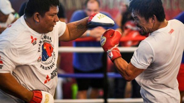 Boxe: l'énième retour de Pacquiao, pour peut-être son dernier combat