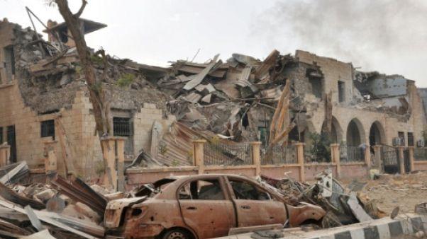 Syrie: 54 morts dont 28 civils dans un raid sur un réduit de l'EI