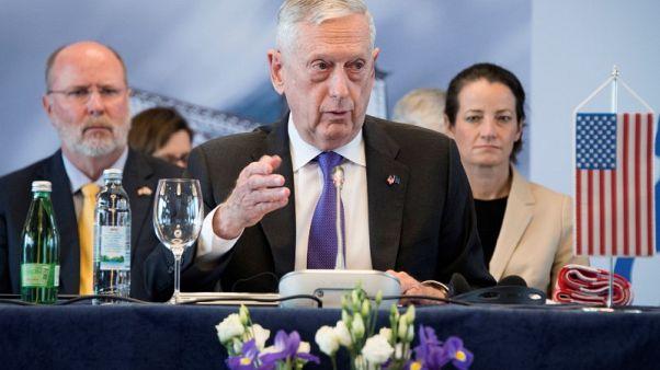 """وزير الدفاع الأمريكي يتجنب ذكر """"روسيا"""" في اجتماع مع وزراء دفاع دول البلقان"""
