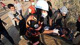 مقتل صبي فلسطيني في احتجاجات على حدود غزة وإصابة جندي إسرائيلي