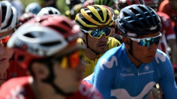Tour de France: départ de la 8e étape, cap au nord