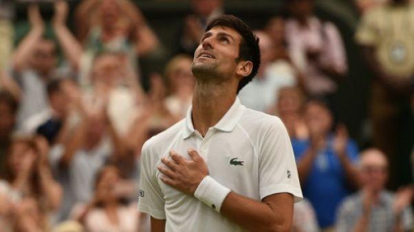 Wimbledon: Novak Djokovic de retour en finale
