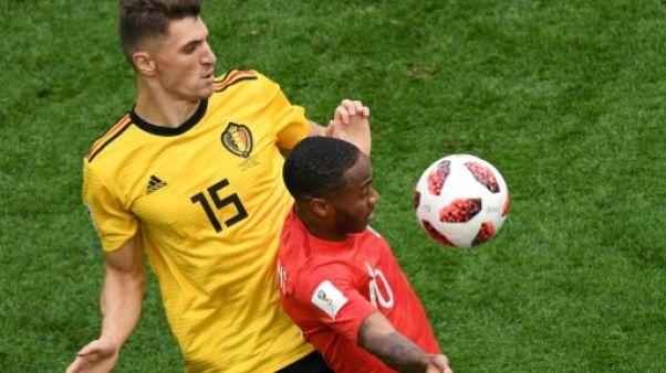 Mondial-2018: la Belgique devant à la mi-temps contre l'Angleterre 1-0