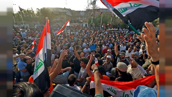 Contestation sociale en Irak: la police disperse plusieurs manifestations