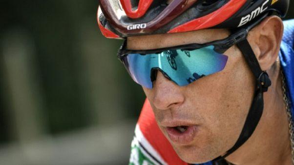 Tour de France: chute et abandon de Richie Porte
