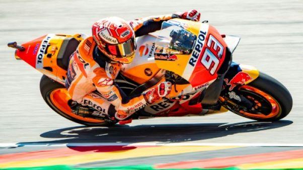 MotoGP: 9e succès consécutif pour Marquez en Allemagne toutes catégories confondues