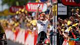 Degenkolb wins Tour de France ninth stage, Van Avermaet leads
