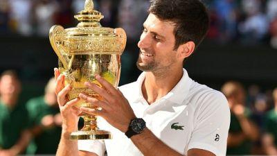 Wimbledon: Djokovic de Paris à Londres, chronique d'une renaissance