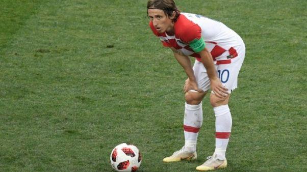 Croatie: Modric, encore un peu court pour le Ballon d'Or?