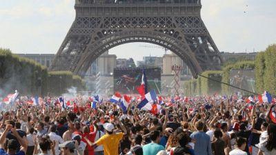 Mondial: la France euphorique pour la finale