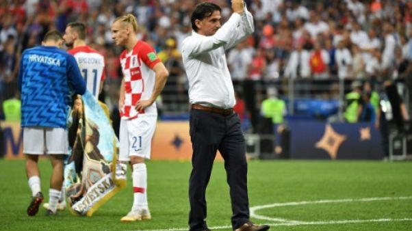 """Croatie: """"on n'accorde pas ce genre de penalty en finale"""""""
