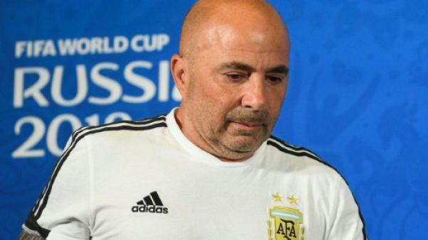 Sampaoli n'est plus le sélectionneur de l'Argentine (Fédération)