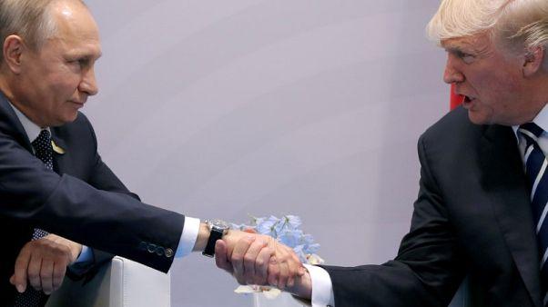 عشية القمة مع بوتين.. ترامب يصف الاتحاد الأوروبي بالخصم