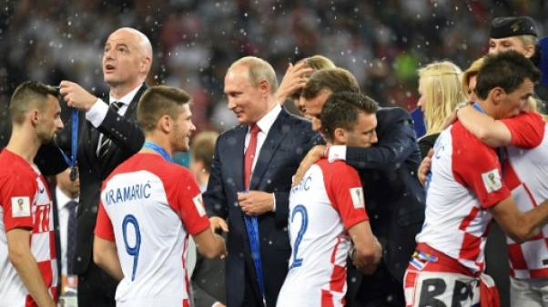 Mondial-2018: Vladimir Poutine a réussi son opération séduction