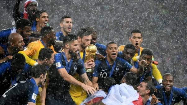 Mondial-2018 - La France attend ses champions du monde