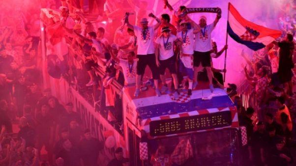 Mondial-2018: fièvre patriotique rouge et blanche en Croatie