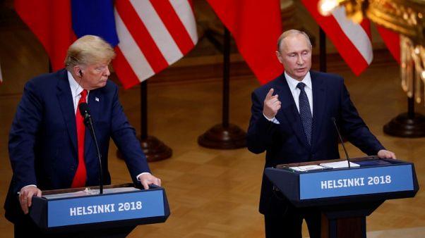 ترامب يقول إنه أثار مع بوتين مسألة التدخل الروسي المحتمل في الانتخابات الأمريكية