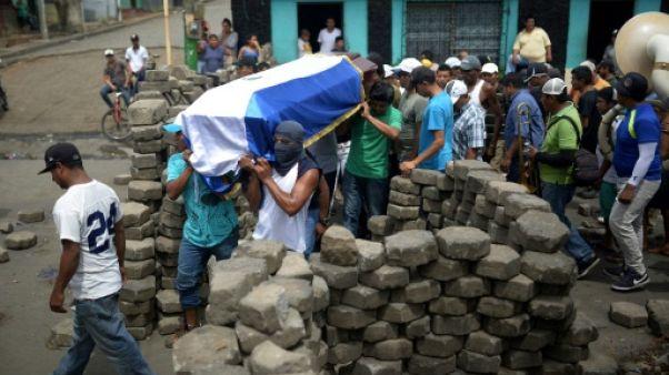 """Nicaragua: """"On va protester"""" jusqu'au départ d'Ortega, assurent les étudiants"""