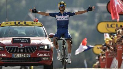 Tour de France: 1re victoire française avec Alaphilippe