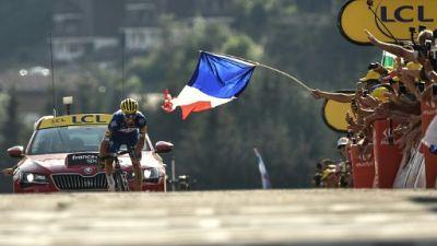 Tour de France: Julian Alaphilippe, la victoire en famille