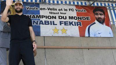Mondial 2018: Fekir et Umtiti, attendu et vu, près de Lyon
