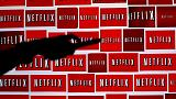 Netflix shares take hit as subscriber slip hints at 'lumpy' road ahead