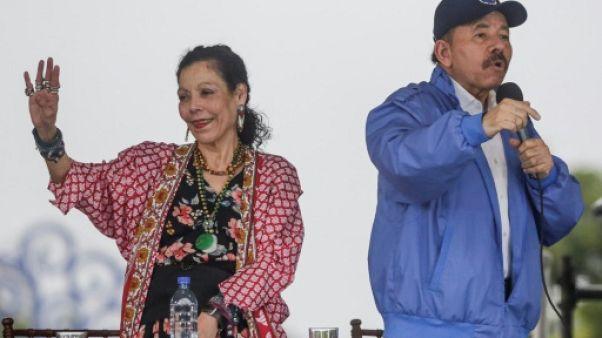 """Nicaragua: Ortega et Murillo, couple """"machiavélique"""" accroché au pouvoir"""