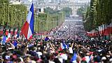 """Célébration des Bleus sur les Champs-Elysées: """"Nous avons tiré les leçons de 1998"""""""