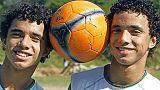 Les jumeaux brésiliens Fabio et Rafael, en 2006 à Rio