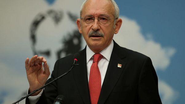 غرامة قياسية على زعيم بالمعارضة التركية بتهمة التشهير بالرئيس وأسرته