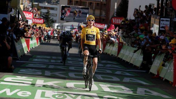 Thomas extends Tour de France lead with Alpe d'Huez win