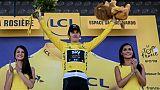 Tour de France: Sky frappe dès la première arrivée au sommet