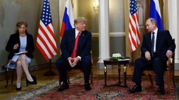Sommet avec Poutine: les démocrates veulent entendre l'interprète de Trump
