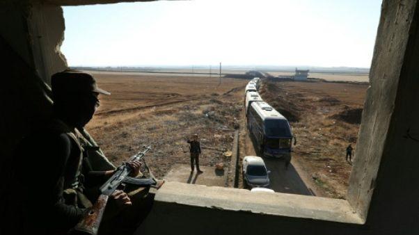 Syrie: début de l'évacuation des localités pro-régime assiégées