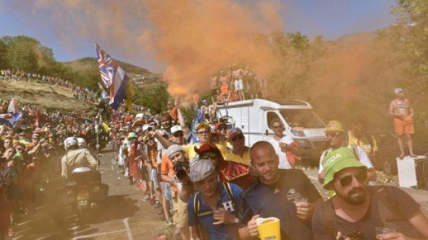 Tour de France: l'Alpe d'Huez, entre foule, ferveur et gloire