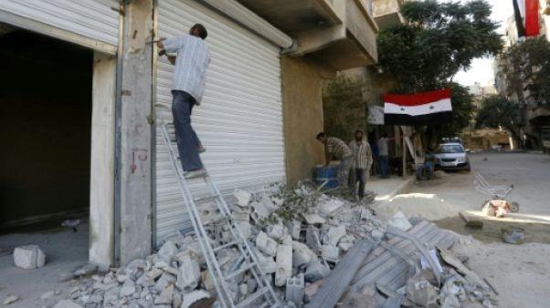 Près de Damas, des habitants face aux défis de la reconstruction