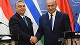 """Tolérance zéro"" contre l'antisémitisme, promet Orban en Israël"