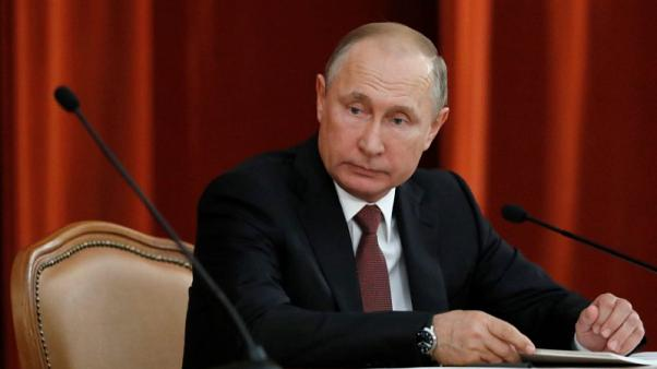 Putin says forces in U.S. trying to derail success of Trump summit