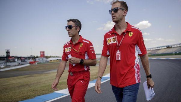 F1, Vettel 'siamo più competitivi'