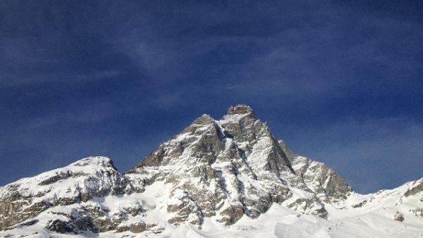 Identificati alpinisti morti su Cervino