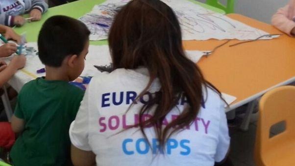 A Norcia Corpi europei solidarietà