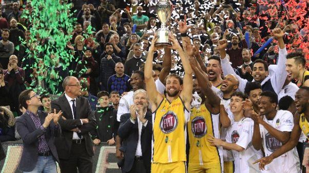 Basket: Fiat Torino per Ricerca Cancro