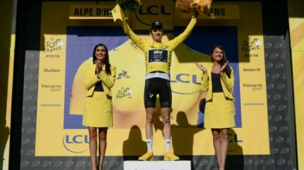 Tour de France: grosse bronca contre Geraint Thomas sur le podium