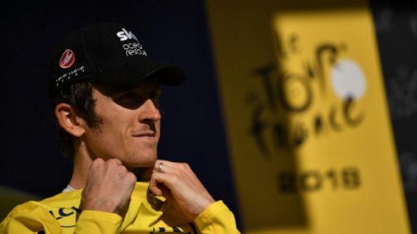 """Tour de France: """"Sur un jour, je peux tout perdre"""", juge Geraint Thomas"""