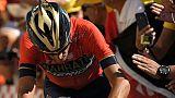 Tour de France: possible fracture vertébrale pour Nibali