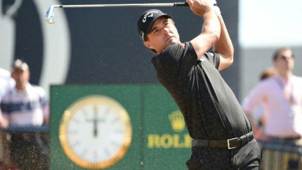 Golf: Kisner seul en tête du British Open après le 1e tour, Woods dans le par