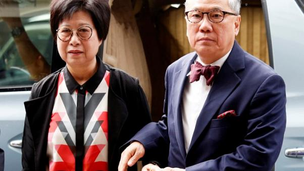 Ex-Hong Kong leader sent back to jail on reduced sentence after failed appeal