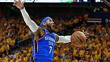 NBA: Carmelo Anthony libre après un jeu de chaises musicales