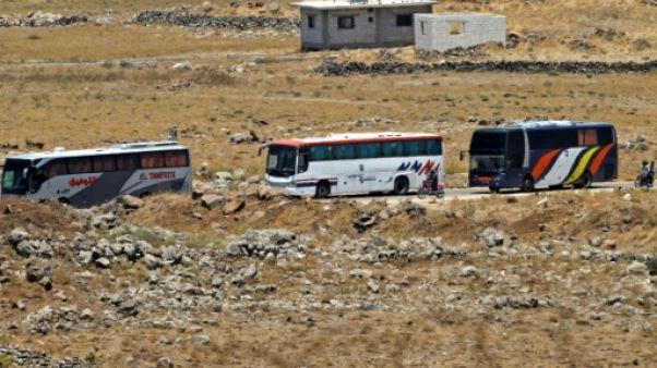 Syrie: début de l'évacuation de rebelles et civils de Qouneitra