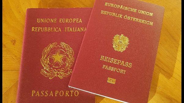 Kompatscher, cautela doppio passaporto